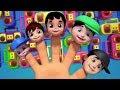 Keluarga Jari | Lagu Anak Rhymes Untuk Anak | Finger Family Songs | Nursery Rhymes | Preschool Song
