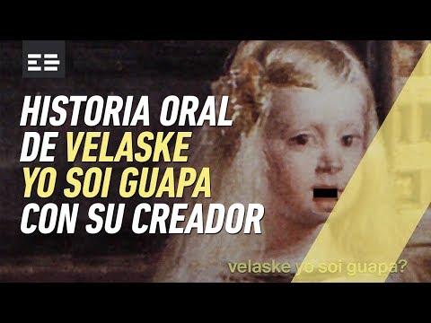 Velázquez yo soy guapa: entrevista con su creador | Emilio Doménech