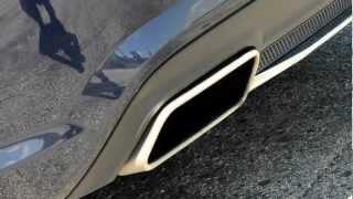Mercedes SL350 (R231, 2012) sound, hang - start-up & rev - Autó Pult