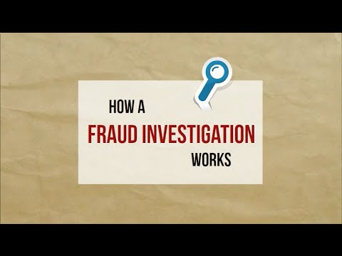 How a Fraud Investigation Works