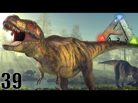 LA ZONE DANGEREUSE DES TYRANNOSAURUS ! | ARK: Survival Evolved ! #Ep39