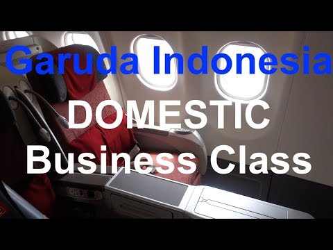BUSINESS CLASS from BALI to JAKARTA | Trip Report
