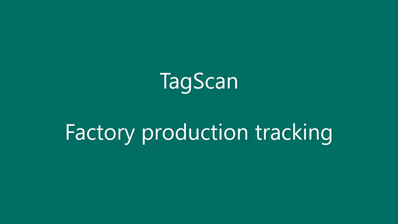 TagScan Overview