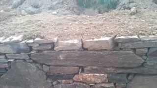 kamenná zed na sucho