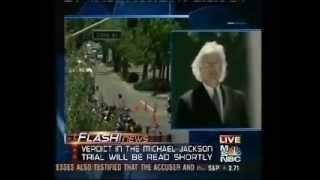 Mesereau Pt. 3 / 5 - MSNBC Coverage Before The Michael Jackson Verdict - 6/13/05