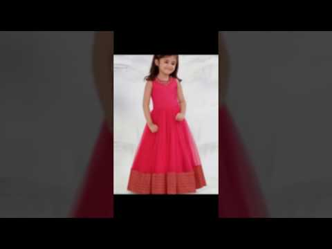Kids Birthday Wear Gowns For Small Girls 2017 - Gravity Fashion
