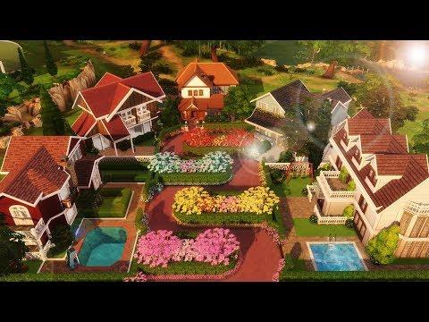 RUA DAS FLORES (Lombard Street) │ The Sims 4 (Speed Build)