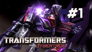 Transformers War for Cybertron Walkthrough - Part 1 [Chapter 1] Dark Energon Let's Play XBOX PS3 PC