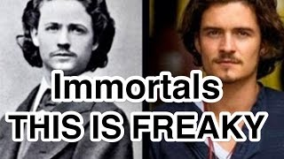 Present Day Celebrities Real Time Travelers Immortals Vampires