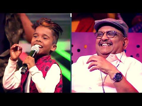 சூப்பர் சிங்கர் TOP 5 Celebrations க்கு வந்து அரங்கத்தை அனல்பறக்கவைத்த SPB! | Super Singer Juniors 6