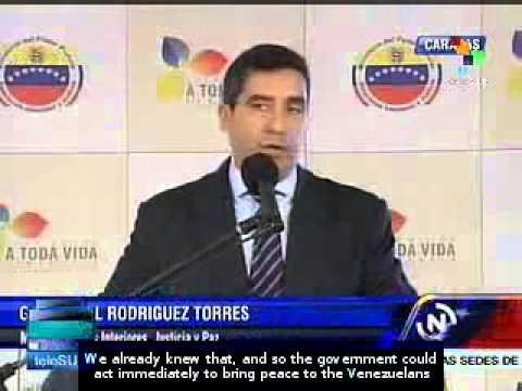 US citizen arrested for links to violence in Venezuela