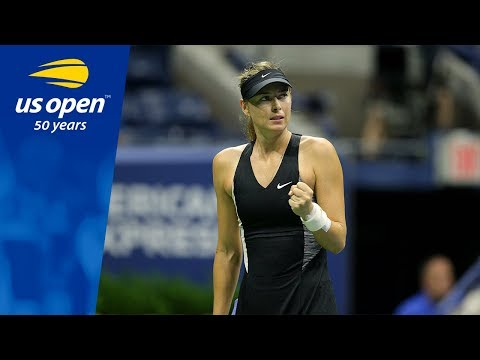 Maria Sharapova Owns Arthur Ashe Stadium, Defeating Sorana Cirstea