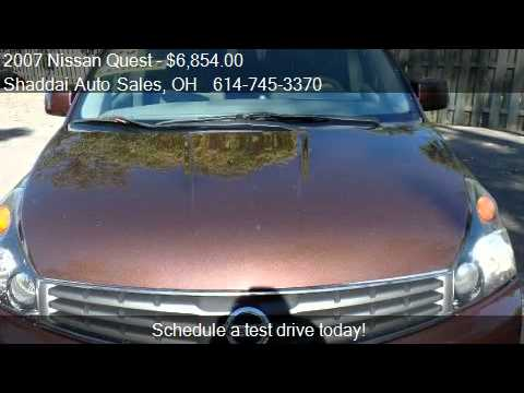 2007 Nissan Quest 3.5 S 4dr Minivan for sale in Whitehall, O