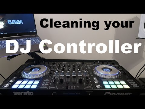 How to Clean your DJ controller | Mobile DJ | Pioneer DDJ SZ