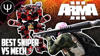 ARMA 3 — Best ARMA Sniper Rifle vs ARMA Mechs!