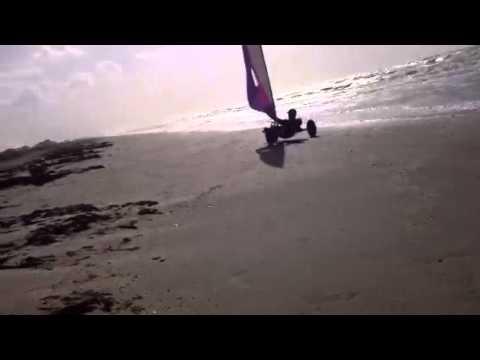 homemade Land Sail buggy