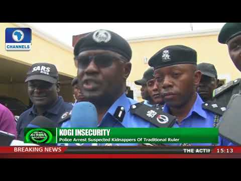 Police Arrest Suspected Kidnappers Of Kogi Traditional Ruler