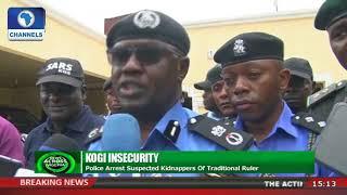 Police Arrest Suspected Kidnappers Of Kogi Traditional Ruler