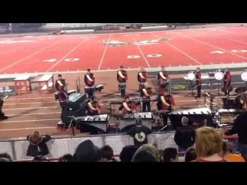 CHS Percussion @ Roos Field, 10/16/15