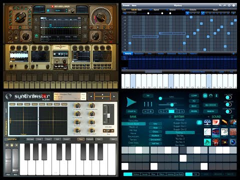 Cyclop ◾ StepPolyArp ◾ Future Drummer ◾ SynthMaster ◾ Audiobus ◾ iPad Set Up Tutorial
