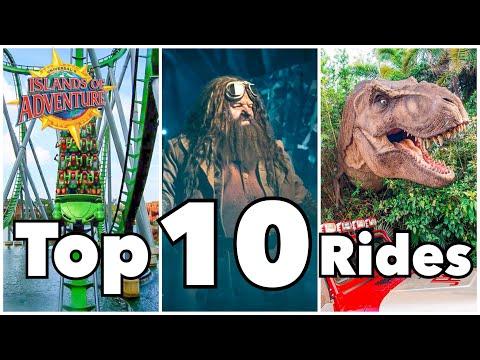 Top 10 Islands Of Adventure Rides | Universal Orlando Resort