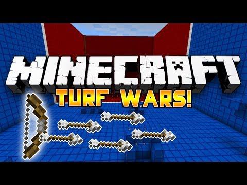 *ANGER* Minecraft PVP: TURF WARS! #2 w/Preston & Nooch!