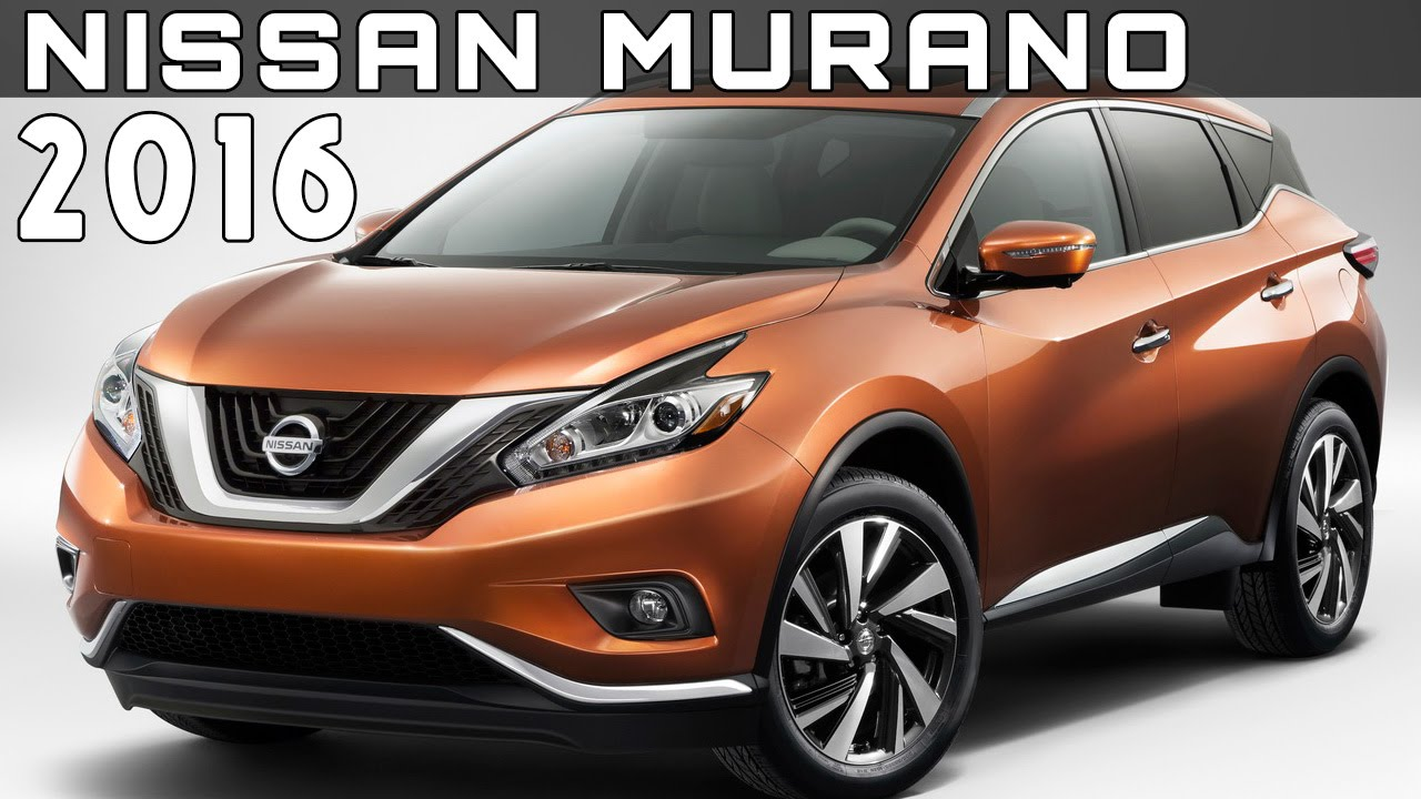 2016 Nissan Murano Review Rendered Price Specs Release Date