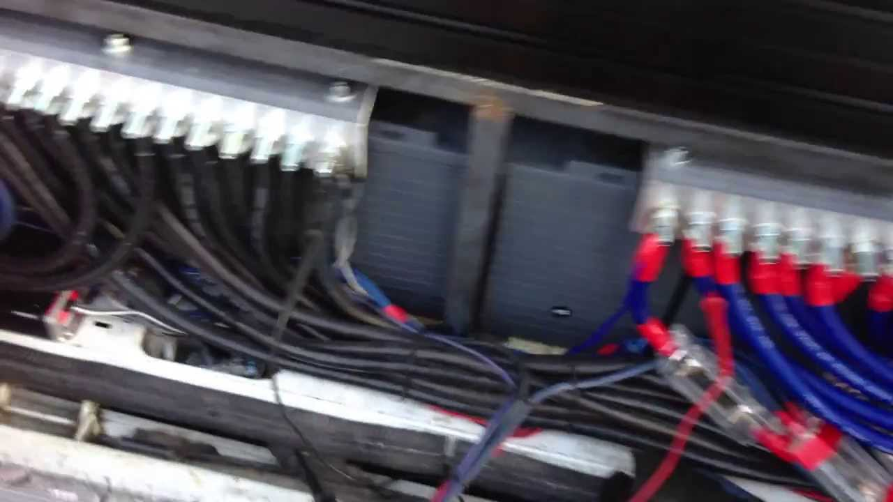 small resolution of justin s blazer w sky high car audio cable and dc audio lvl 6s youtube