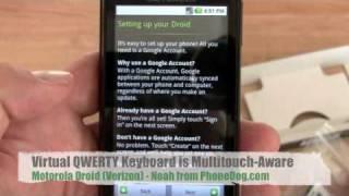 Gambar cover Motorola Droid Unboxing