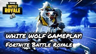 White Wolf Creation A Fortnite Film Clash Of The Werewovles