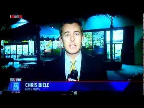 My Mom on FOX 5 News!