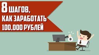 Как заработать первые 100000 рублей в интернете? (Алекс Новиков и Светлана Горяинова)