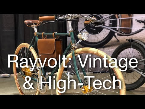 Rayvolt Vintage Electric Cruiser Bikes With High-Tech Features | Electric Bike Report