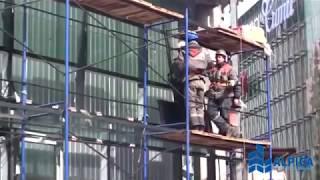Остекление фасада здания ММДЦ «Москва-Сити». Строительная компания «Альпика».(, 2015-05-12T09:29:45.000Z)