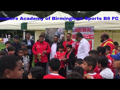 JABS B8 FC community sports club in Ward End Park Summer 17