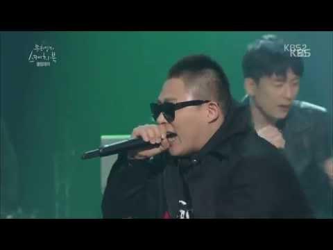 [HIT] 유희열의 스케치북-스윙스&기리보이&씨잼&천재노창(Swings&Giriboy&C Jamm&Genius Nochang) - Rain Shower Remix.20141114