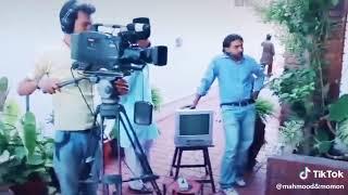 Pakistani funny drama bulbulay behind the scenes