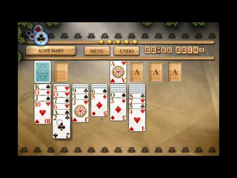 How To Play Aunt Mary Solitaire - All In One Solitaire HD