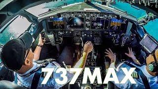 Piloting the new ICELANDAIR 737MAX