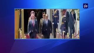 جلالة الملك والرئيس المصري يبحثان العلاقات الثنائية والتطورات في المنطقة - (24-3-2019)