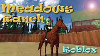 ROBLOX | Meadows Ranch | SallyGreenGamer | Dollastic Plays