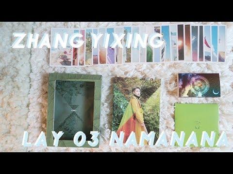 🌱 LAY 3rd Album 'NAMANANA' Unboxing  🌱