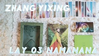 🌱 LAY 3rd Album 'NAMANANA' Unboxing  🌱