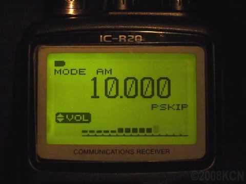 2008-12-31 23:59:60 UTC WWV Leap Second Insertion