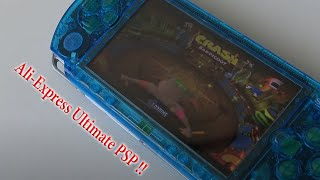 Sony PSP Modded Custom Firmware Hacked Version from Ali-Express