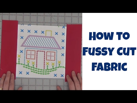 How to Fussy Cut Fabric and Sew Quilt Blocks and Napkins with Leah Day
