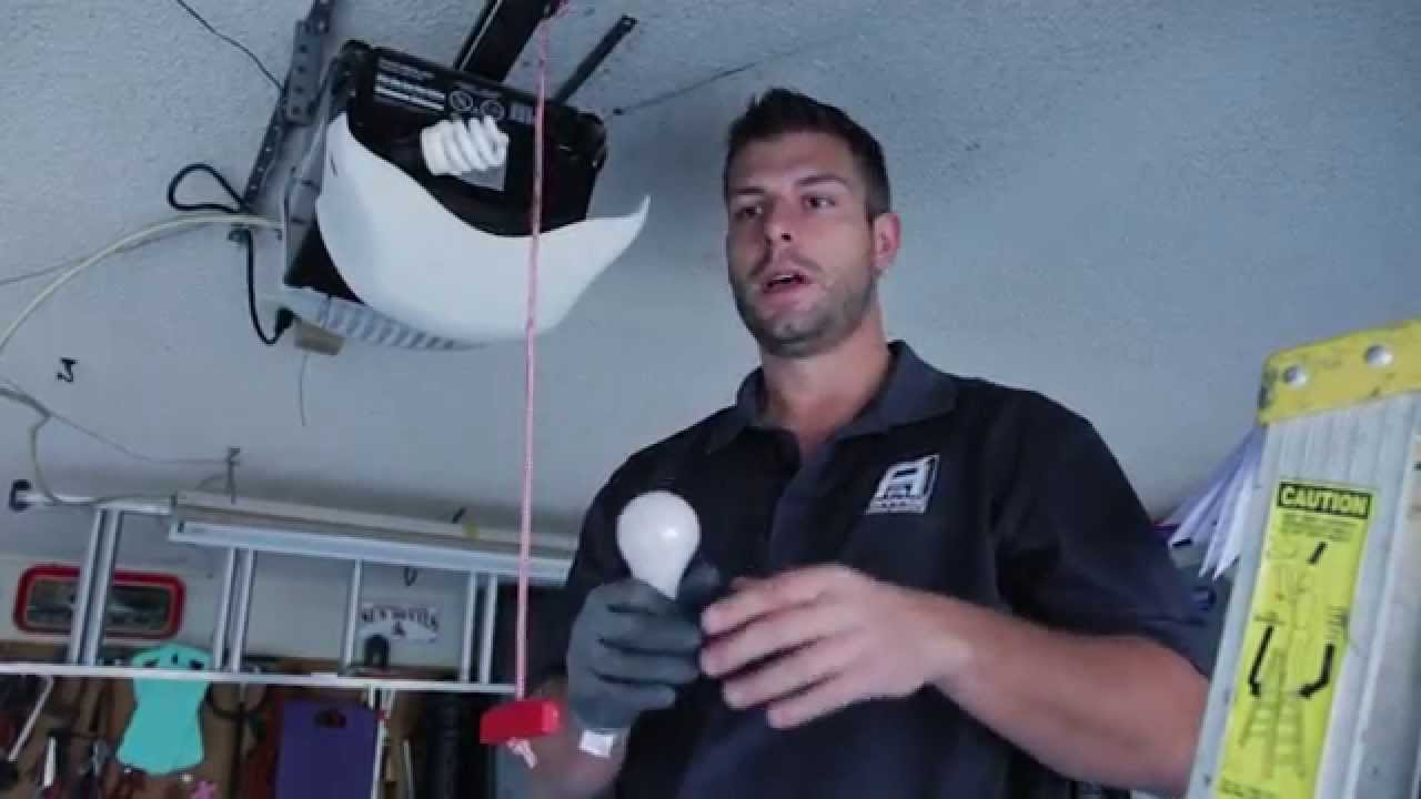 How Led Lights Can Cause Problems With Your Garage Door Opener Youtube