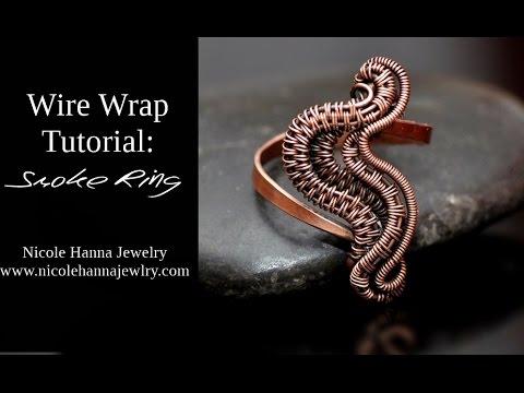 Wire Wrap Tutorial SMOKE RING