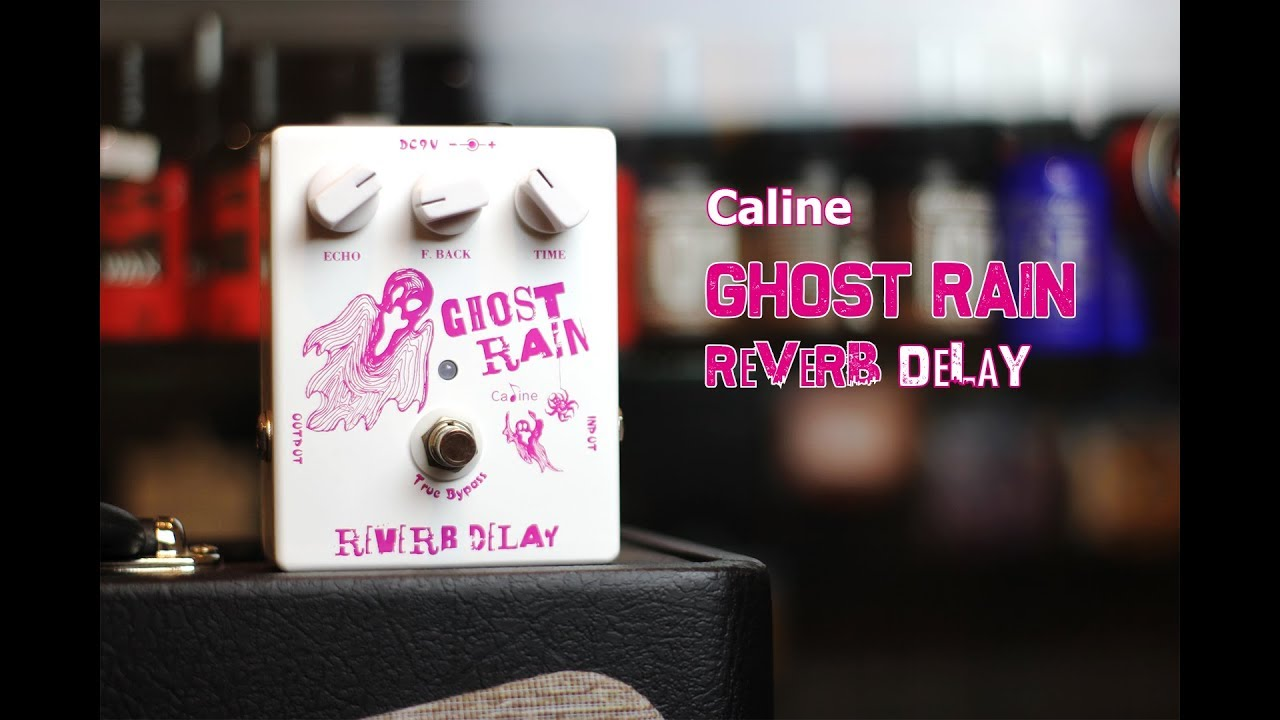 Caline CP-41 Ghost Train Reverb Delay Effect Pedal
