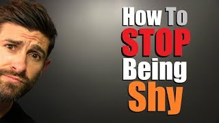 5 Tricks To STOP Being Shy In ANY Situation! (INSTANT Confidence)